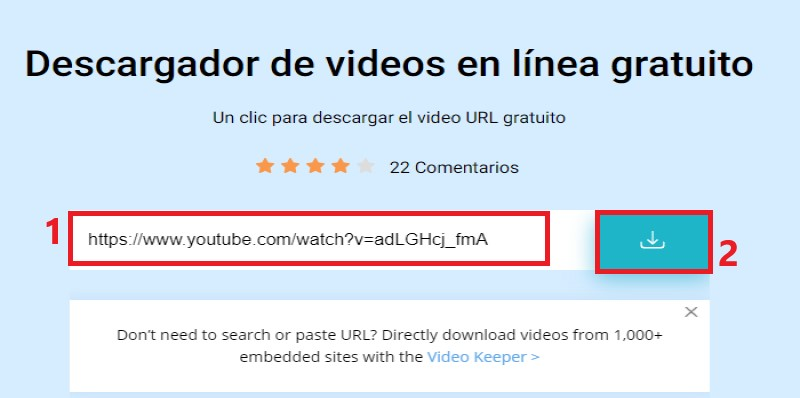 fovd youtube link step1