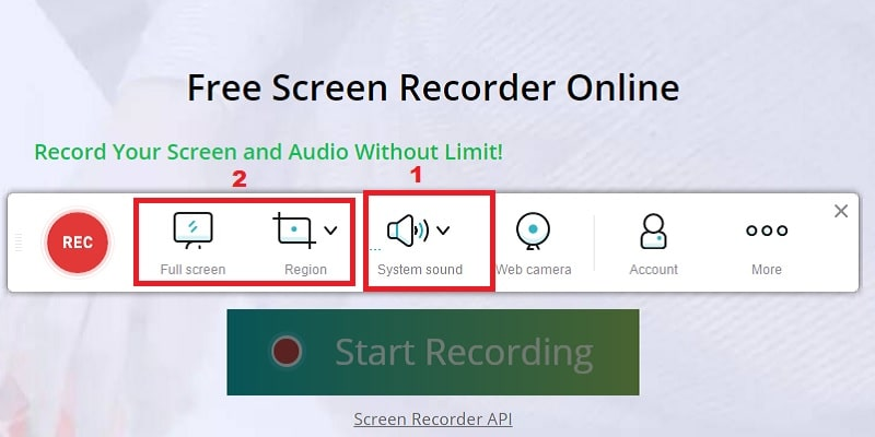 surface pro recorder online step2 min