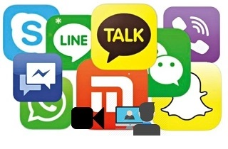 record messaging apps