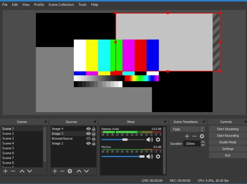 ways to record game obs interface
