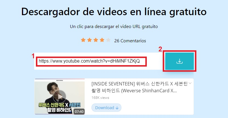 download youtube video to pc fovd step2