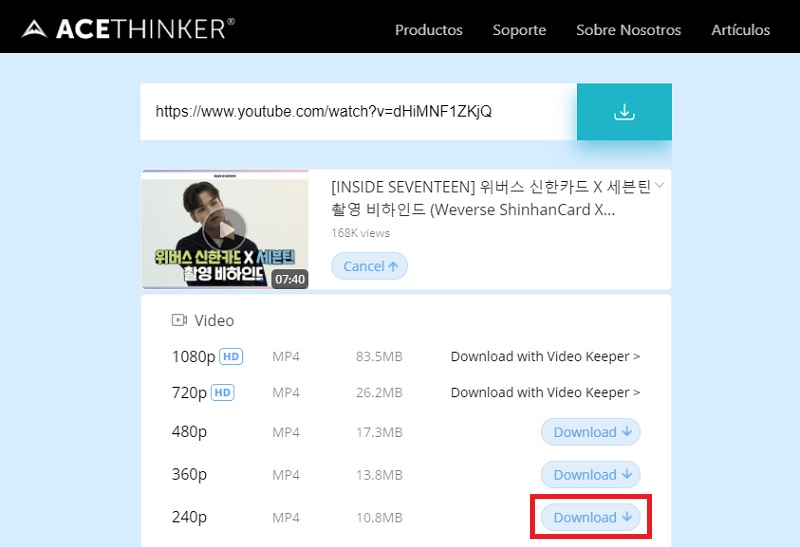 download youtube video to pc fovd step3