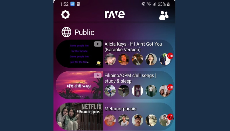 feature youtube app alternatives rave interface