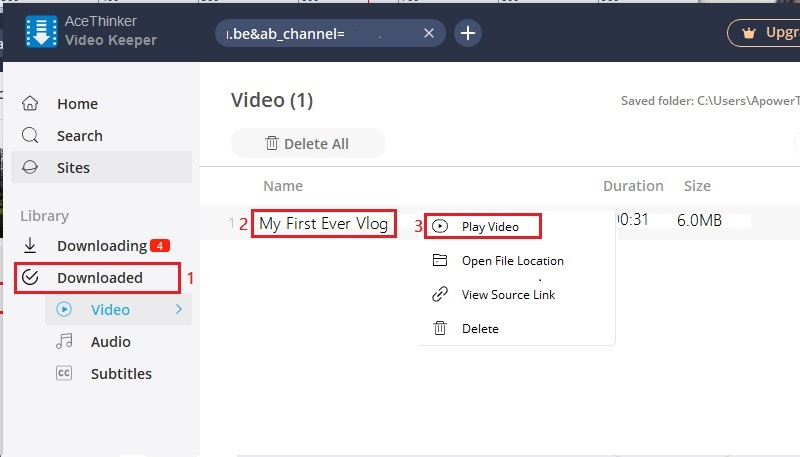 unlisted vs private vk step5